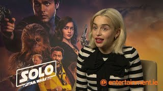 Emilia Clarke on Guinness, Game of Thrones and if Qi'ra will ever return to Star Wars