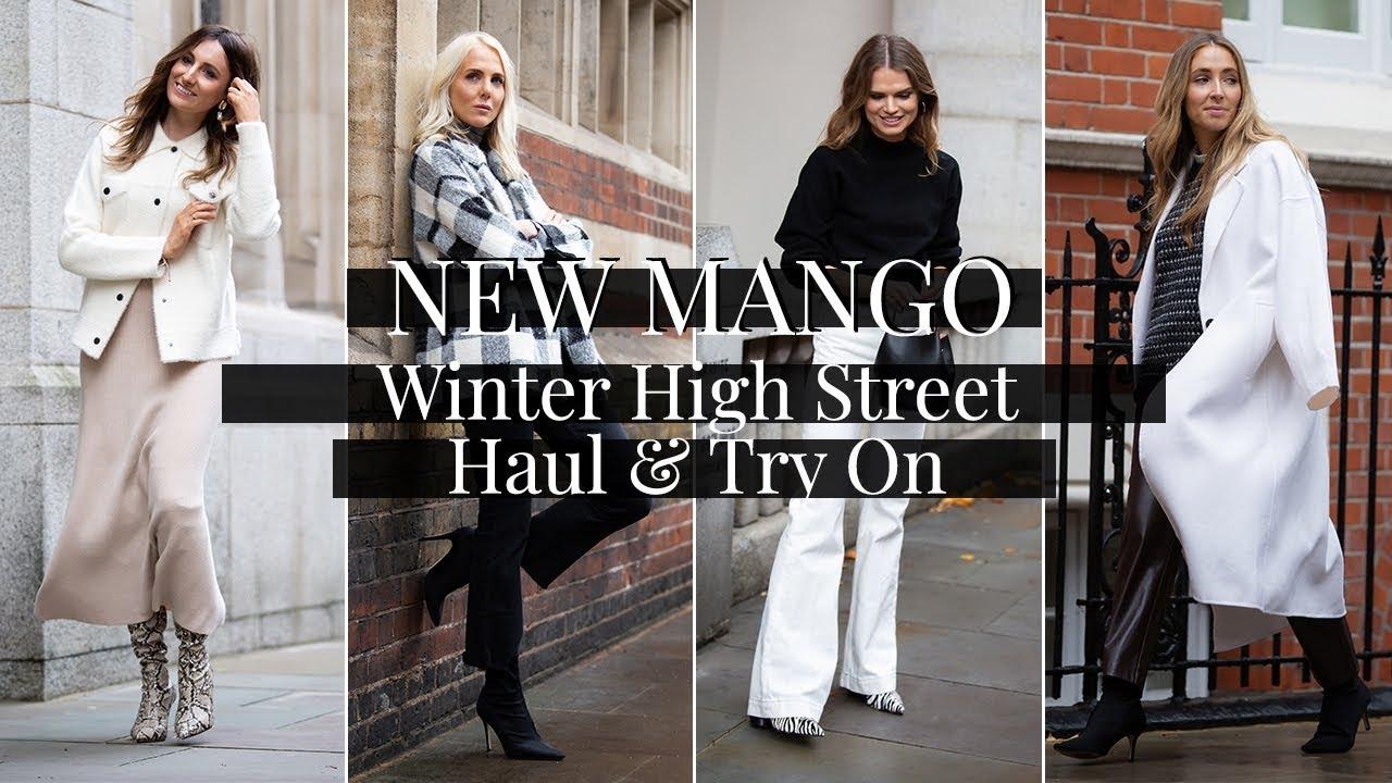 f42c6069859 NEW Mango Winter High Street Haul   Try On - YouTube