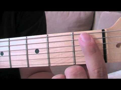 Kolay Gitar Öğren # 8 Gitarda E7 Akoru Nasıl Çalınır ?