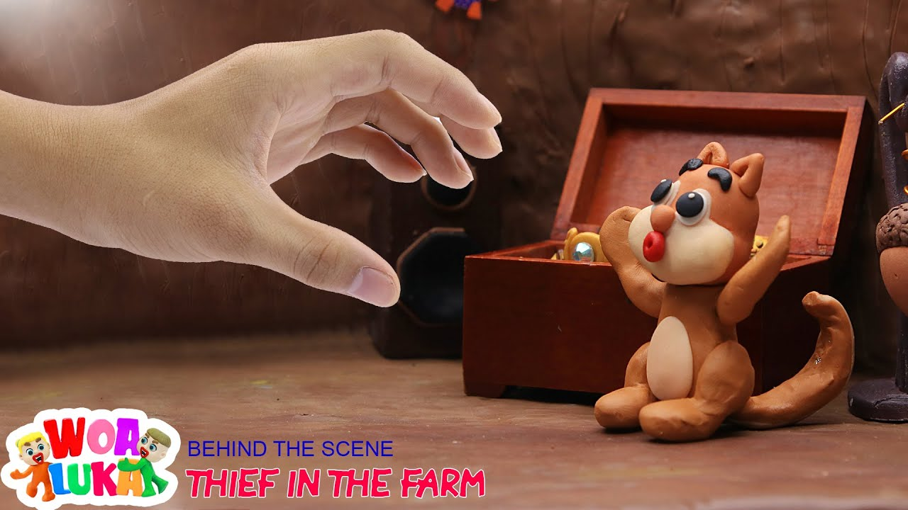 BEHIND THE SCENES: Thief In The Farm - The Making of Stop Motion Animation