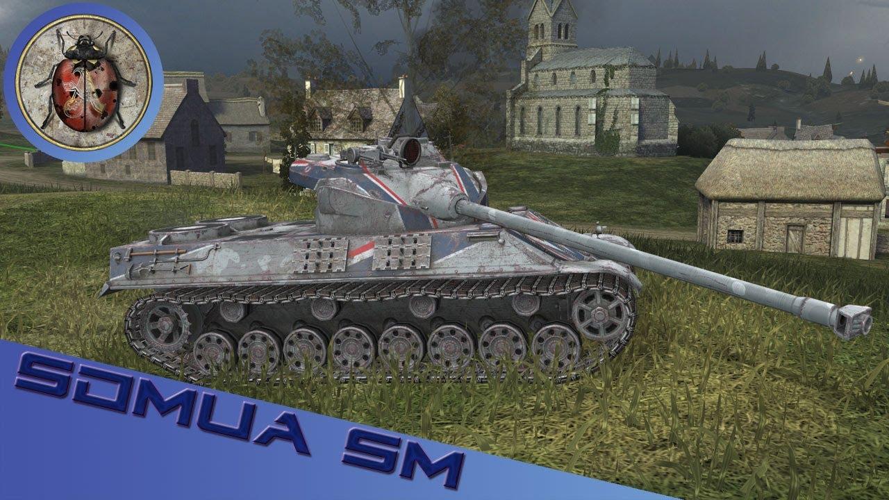 World of Tanks Blitz - Somua SM