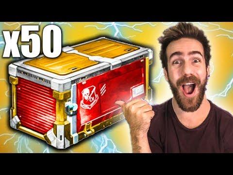 OPENING 50 THROWBACK ROCKET LEAGUE CRATES! (PCC) thumbnail