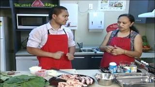 Lu Sipi (palusami With Mutton Flaps) Recipe