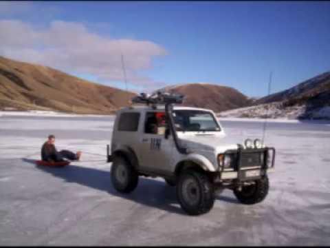 Suzuki 4x4 On Ice