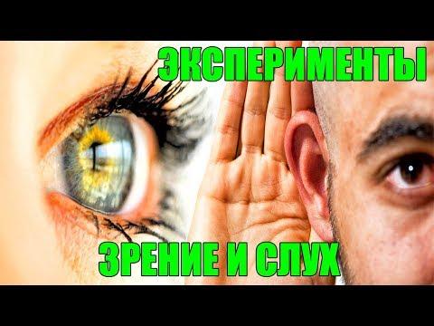 Как органы чувств искажают реальность?Зрение и слух.