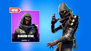 CLOAKED STAR SKIN - Fortnite Daily Reset NEW Items in Item Shop
