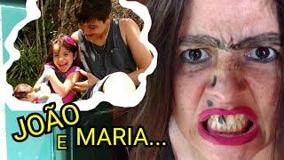 JOÃO, MARIA E A BABY ALIVE NA CASA DA BRUXA,  PARTE 1 - ANNY E EU