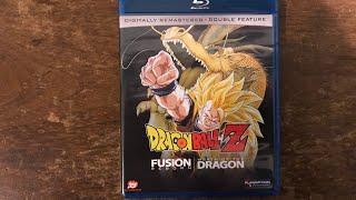 DBZ Fusion Reborn & Wrath of the Dragon Bluray Unboxing 4K