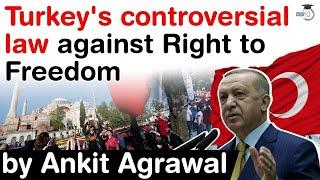 Turkish Parliament Passed Bill Against Right To Freedom - Erdogan Tightens Civil Society Monitoring