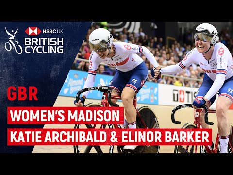 SILVER In The Women's Madison | Katie Archibald & Elinor Barker