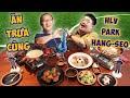 GẤU ƠI ĂN GÌ?   Ăn Gà Tại Quán Ăn Ưa Thích Của HLV Park Hang-Seo   Gấu To