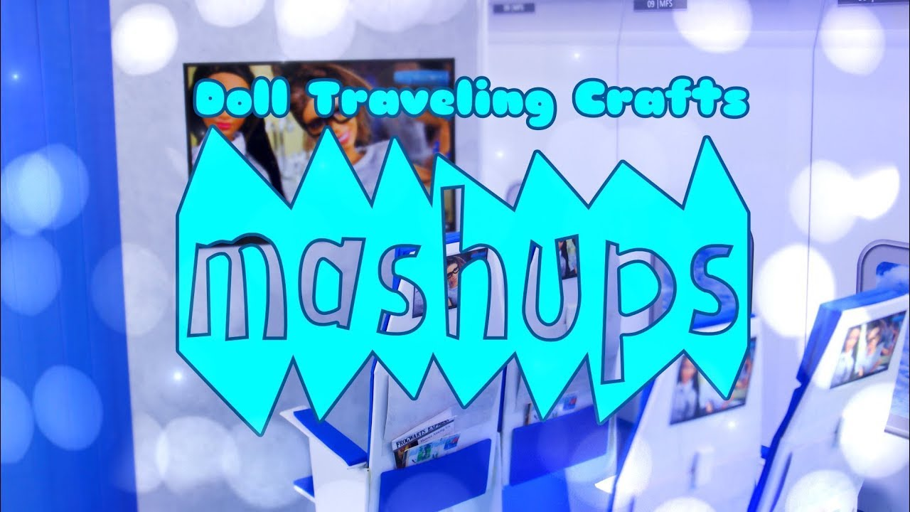 Mash Ups: Doll Traveling Crafts - Luggage | Suitcase | Hat Box | Passport and more