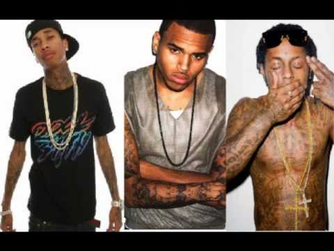 Tyga Ft. Chris Brown & Lil Wayne - SnapBacks Back Remix