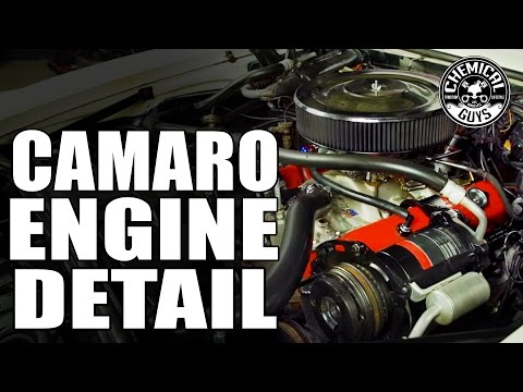 How To Detail A Carbureted Engine - 1969 Chevy Camaro SS - Chemical Guys Car Care