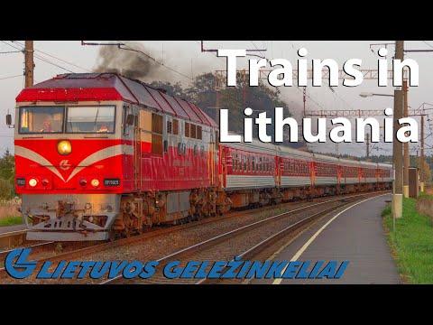 Trains in Lithuania | Vokės geležinkelio stotis | Lietuvos geležinkeliai | 25-09-2020