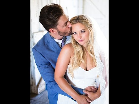 Pretty Little Liars Star Vanessa Ray Marries Landon Beard, Wears a Crop Top Wedding Dress PHOTOS