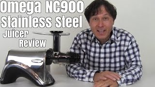 omega nc900hdss stainless steel juicer review