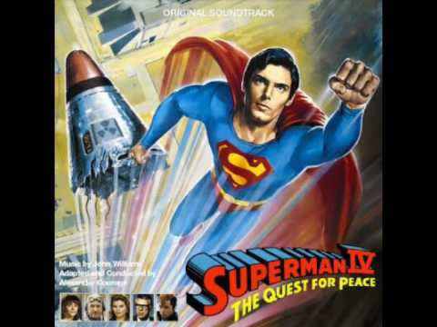 Superman IV: The Quest For Peace OST: Come Uppance/Lifted/Quarried/Flying With Jeremy/End Credits