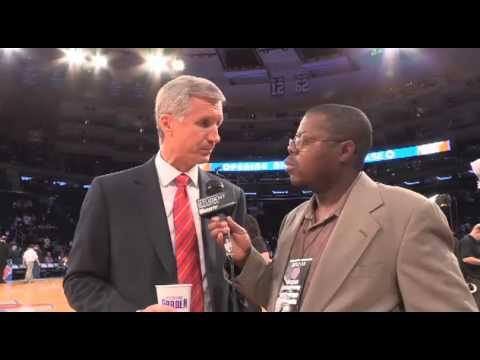 "Mike Breen of MSG and ABC Talks New York Knicks with Derrel ""Jazz"" Johnson"