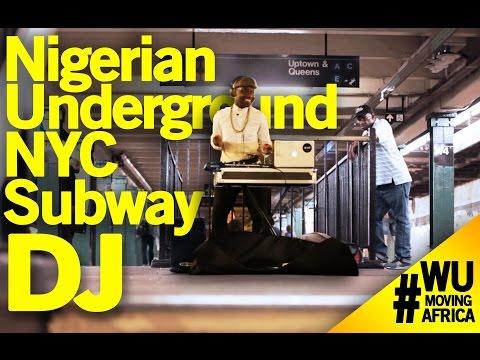 Moving Africa Series: Meet The Nigerian New York City Subway Dj - Eli Fola