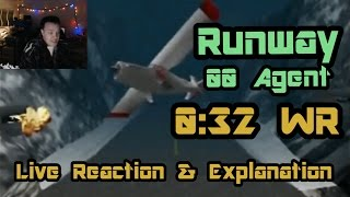 Runway 00 Agent 0:32 (World Record Tie - Live Reaction, Explanation & History!)