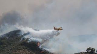 El incendio en Gran Canaria, fuera de control