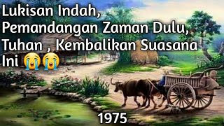 Suasana Perkungan Indonesia jaman dulu