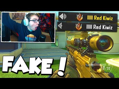 BO2 1v1 AGAINST FAKE RED KIWIZ! (winner gets to be the REAL Red Kiwiz!)