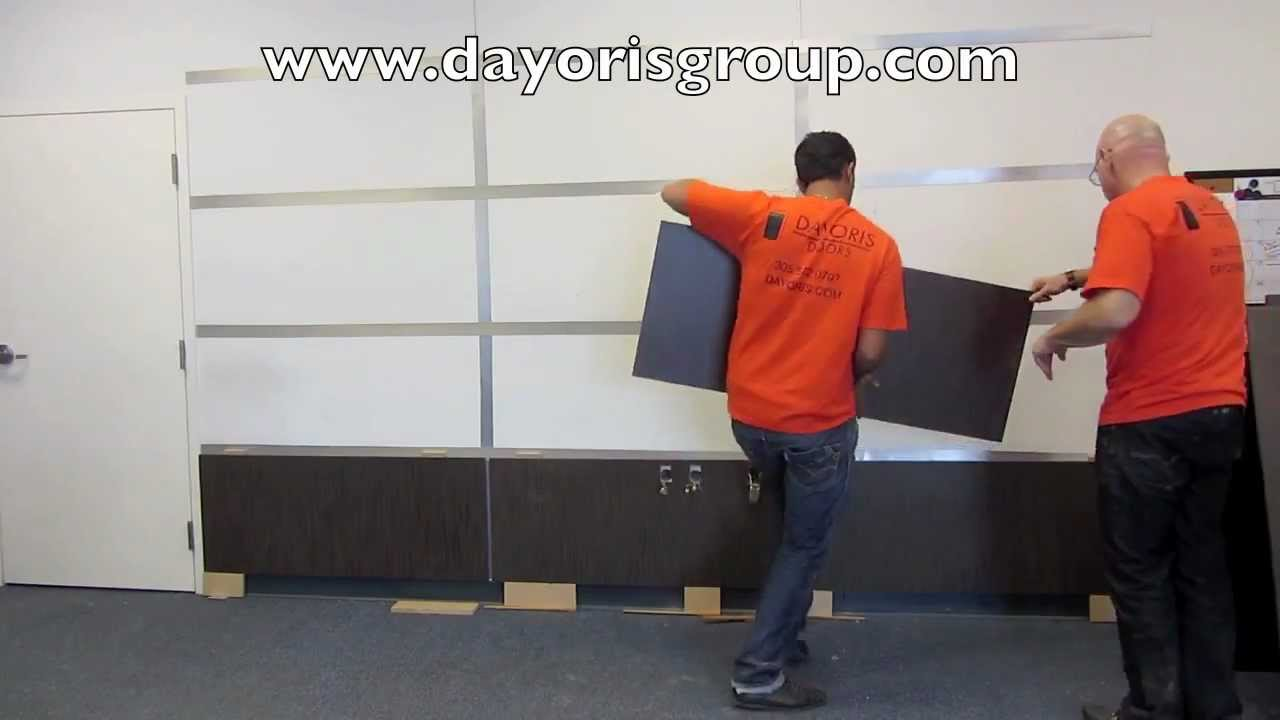 Modern Panels Wall Panel Installation Dayoris Group