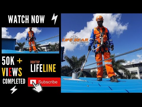 Roof Top Safety - Lifeline