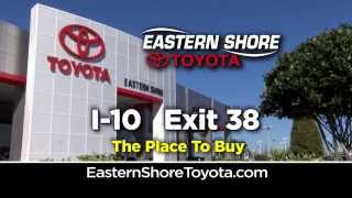 Spring Sales Drive at Eastern Shore Toyota