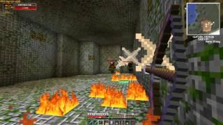 Minecraft - RPG KERON  - РПГ сервер - Фарм данжа наг