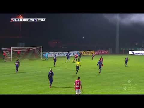 10. krog: Aluminij - Maribor 2:3 ; Prva liga Telekom Slovenije 2017/18