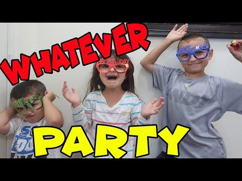 "Cohen's ""WHATEVER"" birthday party CELEBRATION!"
