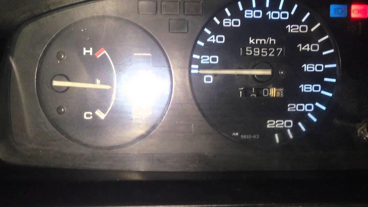 Honda civic eg temperature gauge problem