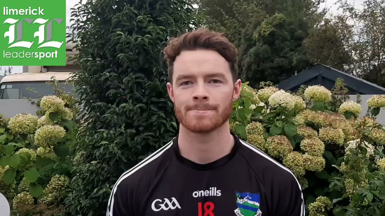 Darren O'Doherty, Newcastle West, Limerick Co SFC preview v Claughaun