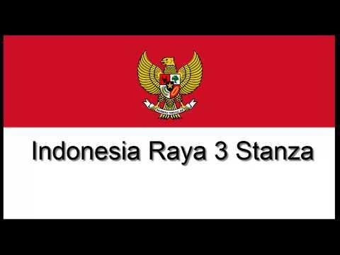 INDONESIA RAYA 3 STANZA DAN LIRIK