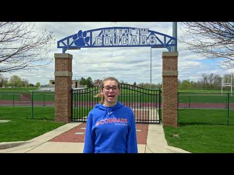 Carly Rutter Lenawee Christian School Senior Athlete Video