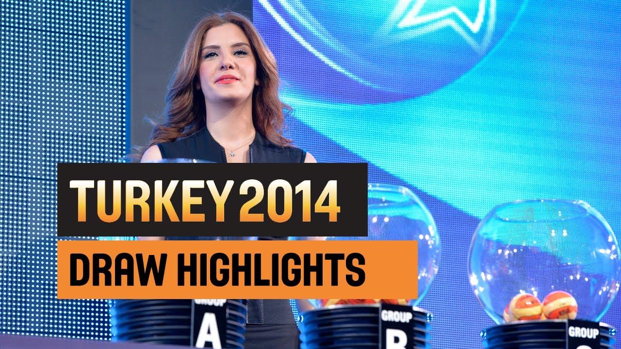 #Turkey2014 Draw Highlights