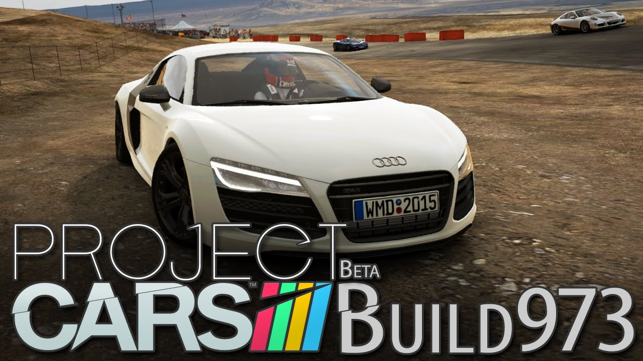 Marvelous Project CARS Build 973 [HD] [GER] Audi R8 V10 Plus @ Willow Spring Horse  Thief Mile