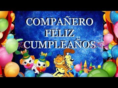 Compañero Feliz Cumpleaños
