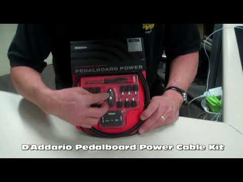 D'Addario Pedalboard Power Cable Kit