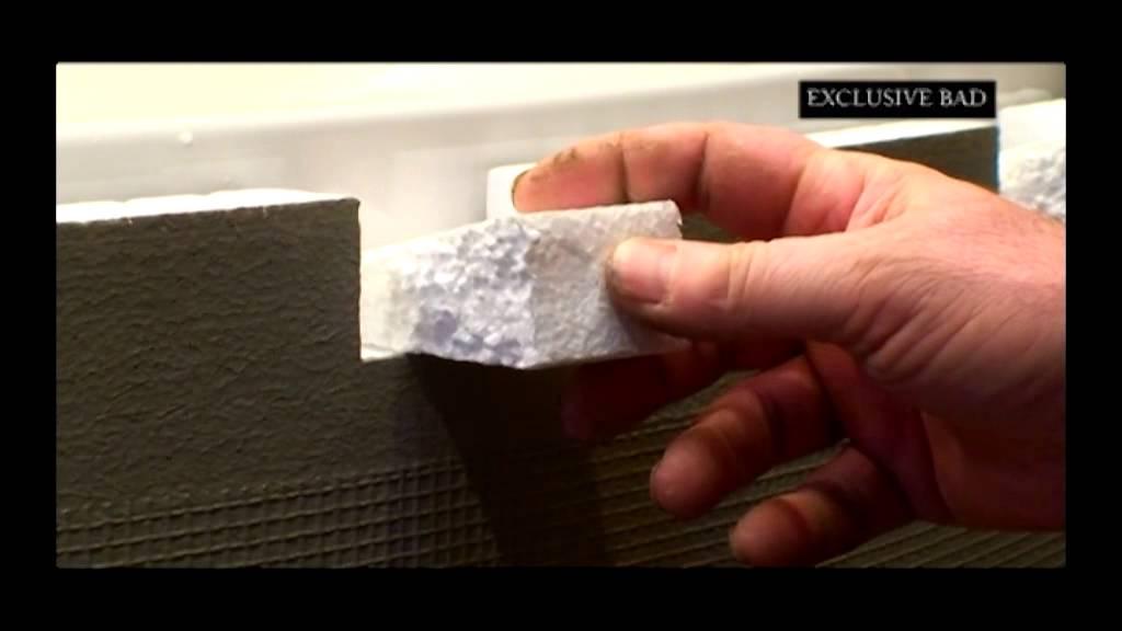 Uberlegen Montageanleitung   Eckwanne Badewannenverkleidung Mit 5, 10, 15 Cm Ablage    YouTube