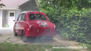 Goggomobil Sternmotor HG18 Soundcheck & Smokecheck (HD)
