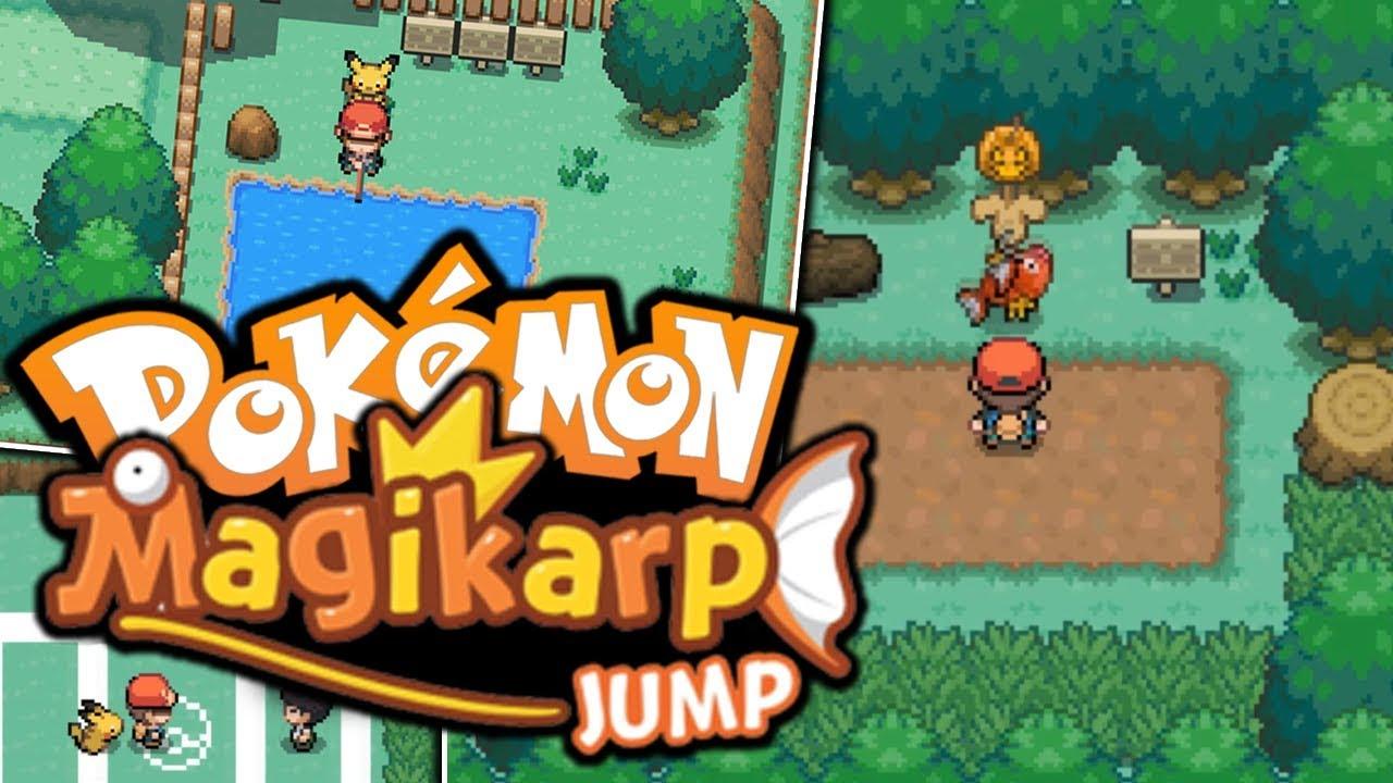 someone actually made this pokémon magikarp jump pokemon fan game