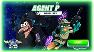 Phineas and Ferb - Agent P Rebel Spy - Phineas and Ferb Games [ Full Games ]