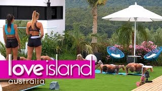 Girls send the boys to boot camp | Love Island Australia 2018
