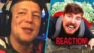 Suchen & VERSTECKEN um $500.000😱 REAKTION auf MrBeast   MontanaBlack Reaktion