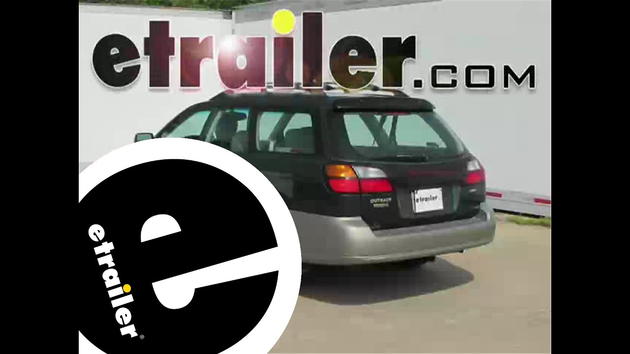small resolution of install trailer wiring 2000 subaru outback wagon 118461 etrailer com