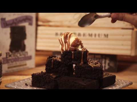 Divinely Scrumptious Belgian Brownies using BBBmix by Brown Butter Bakes